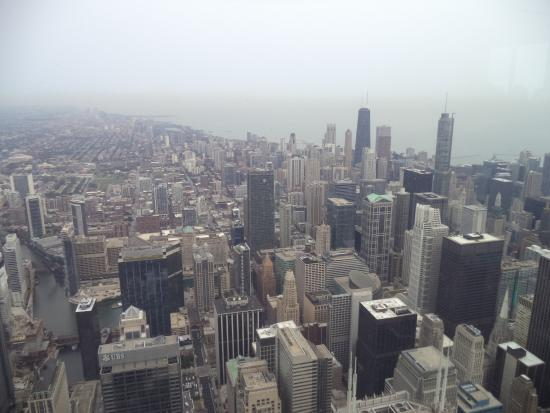 Skydeck Chicago - Willis Tower: View