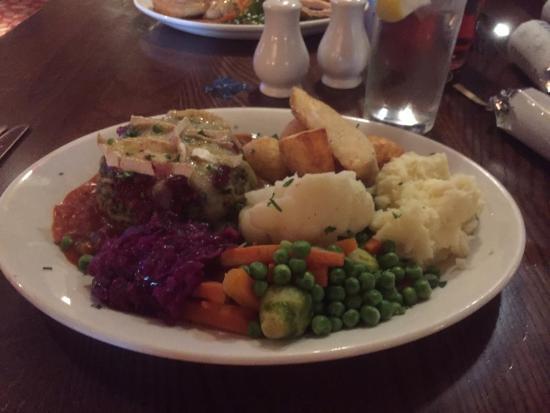 Vegetarian Christmas Dinner.Vegetarian Christmas Dinner Picture Of Hungry Horse