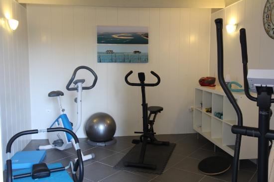Villenave-de-Rions, Prancis: Salle de Fitness