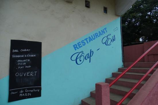 Escalier Pour Se Rendre Au Restaurant A L étage Picture Of