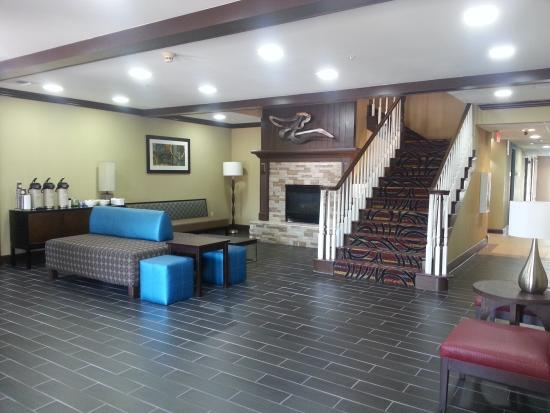 BEST WESTERN Sugar Sands Inn & Suites: RELAX IN THE CALM LOBBY AREA
