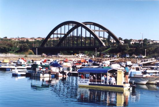 Nico Malan Bridge over the Kowie River in Port Alfred