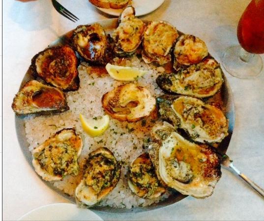 Half Shell Oyster House Gulfport: Oyster Sampler