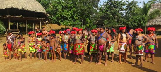 Embera Village Tours : Embera Indian tribe