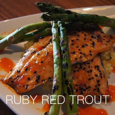 Cafe Barron's : Ruby Red Trout Special