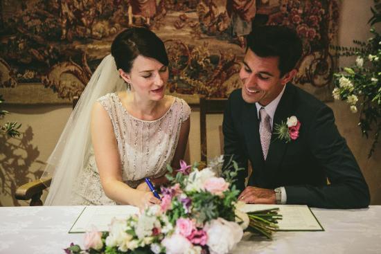 Atcham, UK: wedding