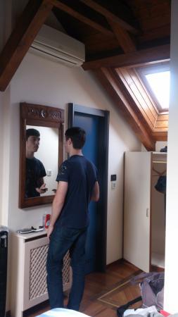 Residence Jecna: вход в ванную из спальни на 2 этаже