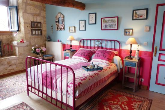 Dordogne, ฝรั่งเศส: Chambre Mouette (Douche)