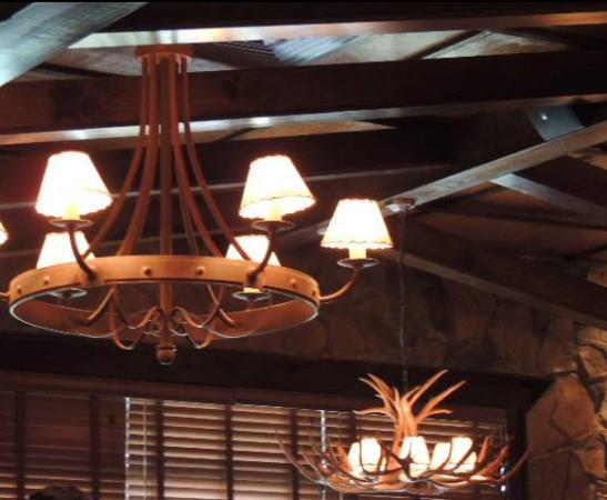 LongHorn Steakhouse: Decoração interna