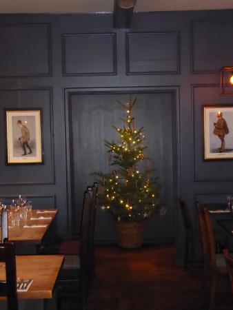 Langport, UK: Christmas decorations