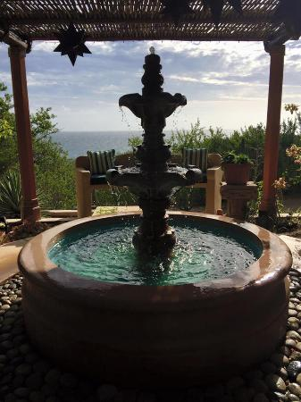 Los Frailes, Μεξικό: one of many fountains nestled on the paths with amazing views all over the property