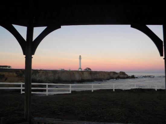 Point Arena, CA: From the Gazebo at Dusk