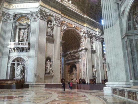 Int rieur photo de basilique saint pierre vatican for Exterieur basilique saint pierre