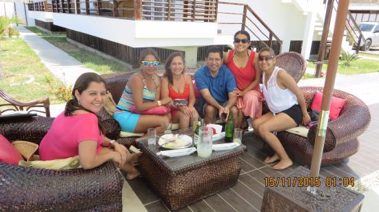 Zorritos, Peru: Despedida grupo de amigos de Promo 93