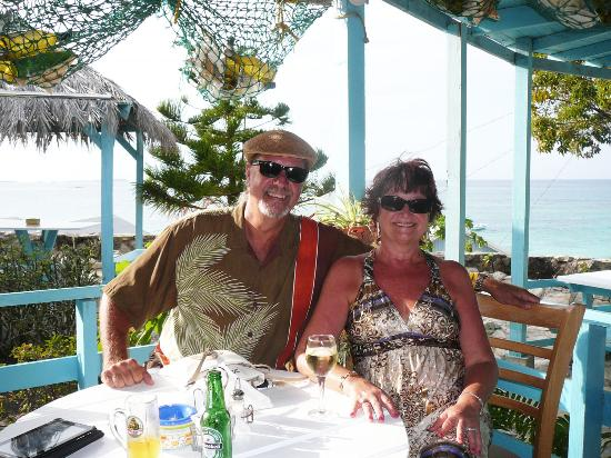 Long Bay, Antigua: Diane's 60th Birthday Meal
