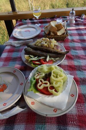 Restaurant Silistria: обед