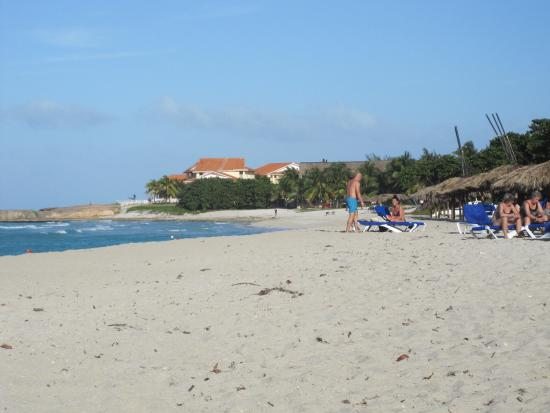 Ocean Vista Azul Beach To The Right Of Hotel