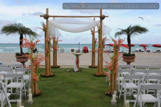 Acqualina Resort Spa On The Beach Miami Wedding Pictures Featuring Decor And
