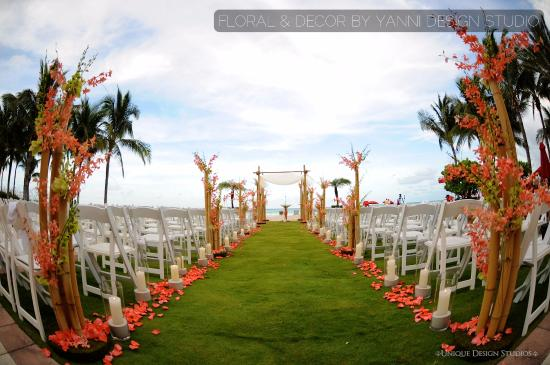 Acqualina Resort & Spa on the Beach: beach ceremony design picture ideas at the Acqualina Miami  Hotel