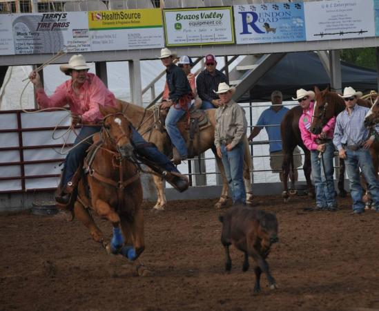 Johnson County Prca Rodeo Picture Of Cleburne Texas