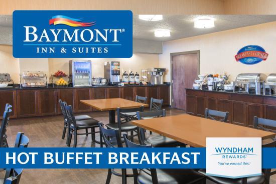 Bartonsville, بنسيلفانيا: FREE BREAKFAST BUFFET