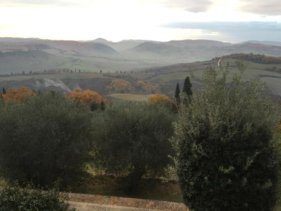 Piccolo Hotel La Valle Pienza: The view from my room