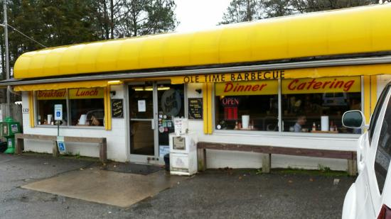 Outside view - Picture of Ole Time Barbecue, Raleigh - Tripadvisor