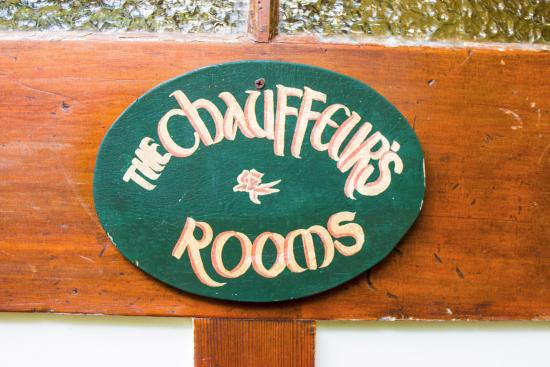 Secrets Hideaway: Room Sign
