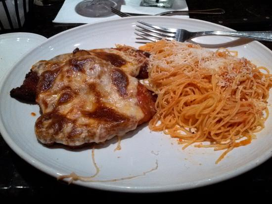 Carrabba's Italian Grill: Chicken parm and pasta