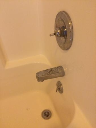 Concordia, MO: missing shower handle