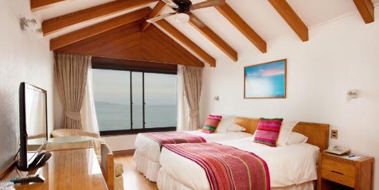 Renaca, Cile: Suite Superior Vista Mar c/jacuzzi . Suite Sea View Room with Jacuzzi