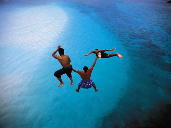 American Samoa: Diving into crystal blue waters of Manu'a