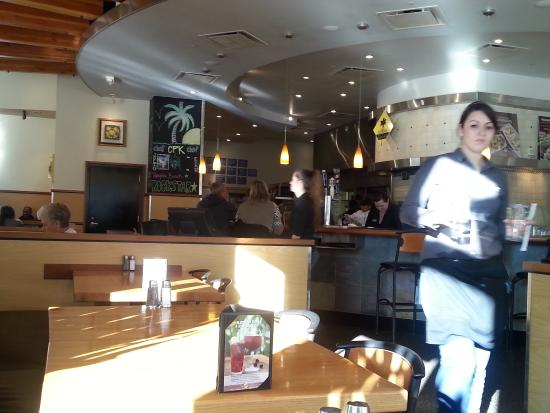 Dining1 - Picture of California Pizza Kitchen, Virginia Beach ...