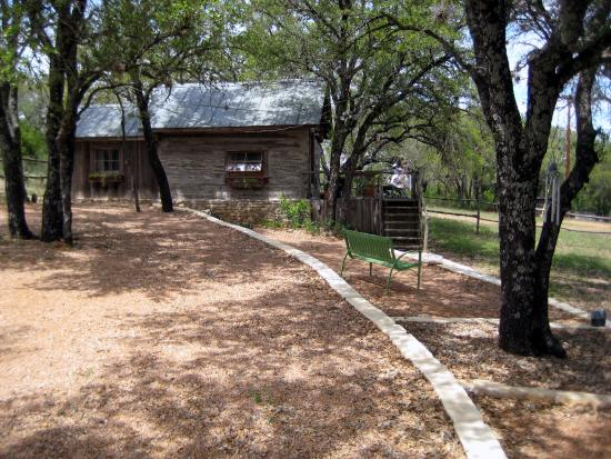 Chanticleer Log Cabin