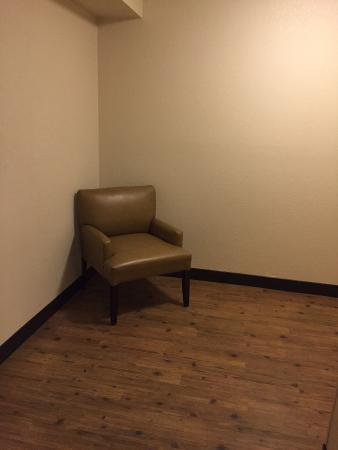 Red Roof Inn El Paso East: Random Chair In The Room...we