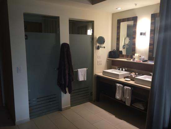 Dreams Las Mareas Costa Rica Open Bathroom In Our Suite