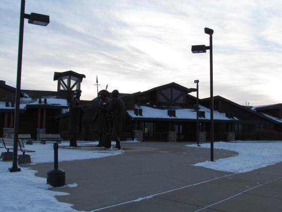 Washburn, Dakota Północna: Visitor Center