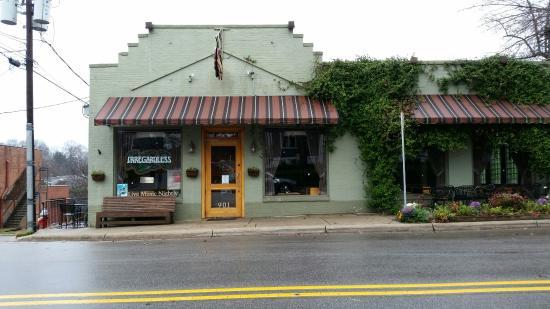 Irregardless Cafe: Outside view