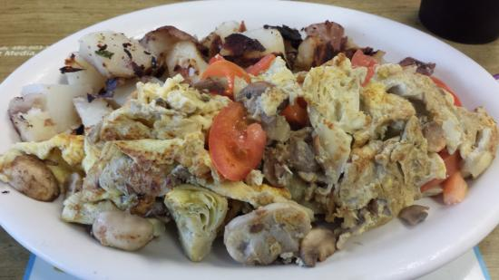 Scotts Valley, Californië: Vegetarian scramble