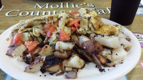 Scotts Valley, CA: Mollie's Country cafe!