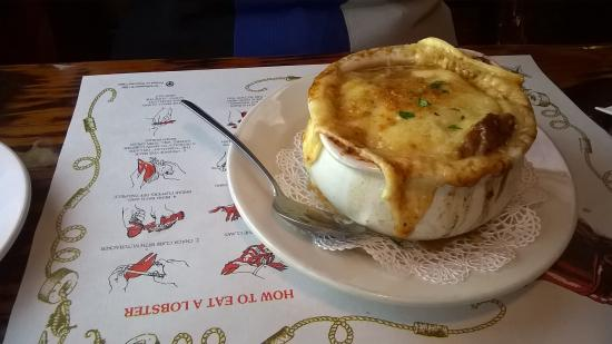 Lobster Grille: Onion soup