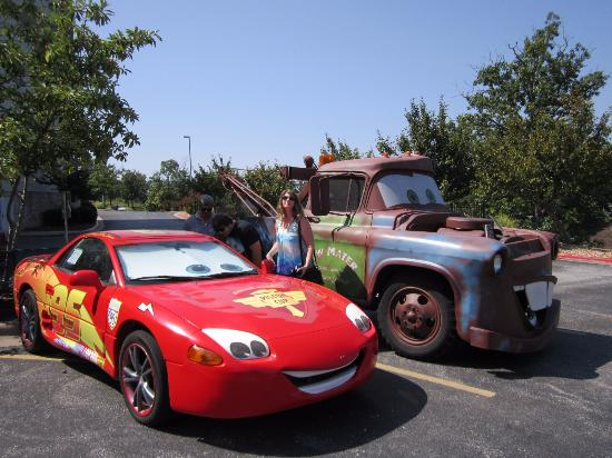 Lightning Mcqueen And Mater Picture Of Celebrity Car Museum