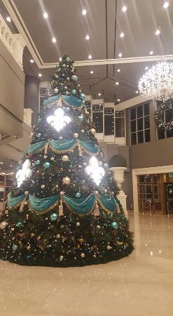 nice xmas tree - Picture of Kensington Hotel Pyeongchang ...