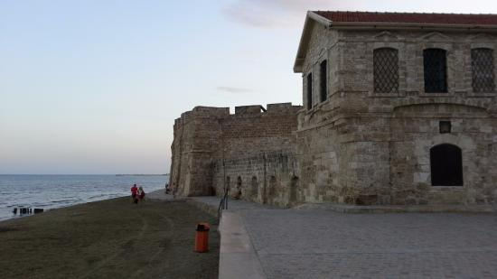 Livadhiotis City Hotel: Fort on the beach