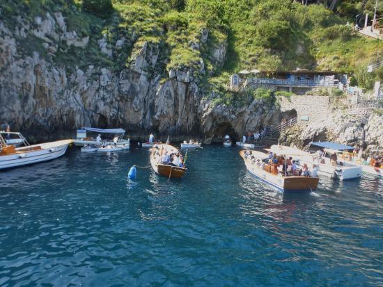 Boat Trip To Capri From Positano Picture Of Hotel Poseidon
