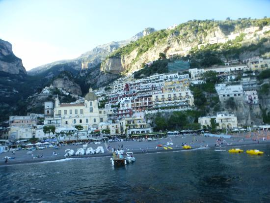Hotel Poseidon: Returning to Positano from Capri