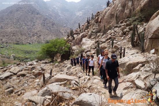 Trujillo, Peru: Hiking day