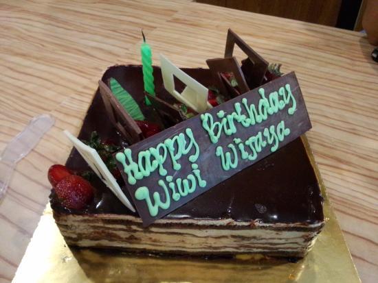 Opera Birthday Cake Picture of Igors Pastry Surabaya TripAdvisor