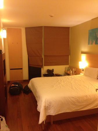 ibis Phuket Kata: очень удобная и просторная кровать