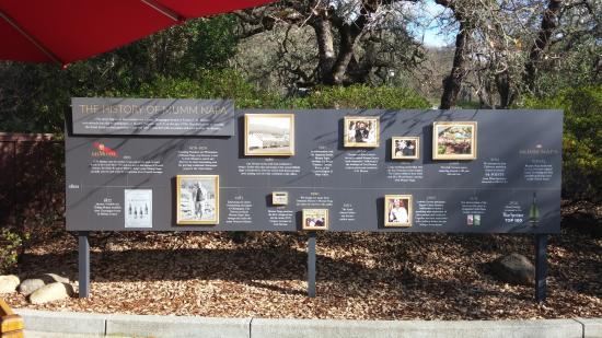 Rutherford, Californie : 멈 나파 역사